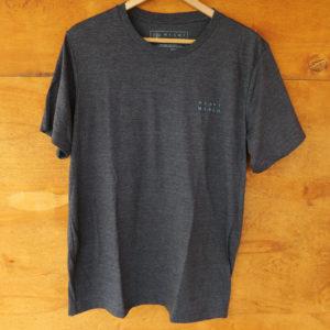 camiseta gris frente