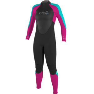 2017-ONeill-Girls-Epic-32mm-BZ-GBS-Wetsuit-BLACK-BERRY-AQUA-4215G