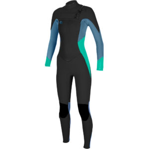 ONeill-Ladies-ORiginal-54mm-Chest-Zip-Wetsuit-BLACK-SEAGLASS-4997