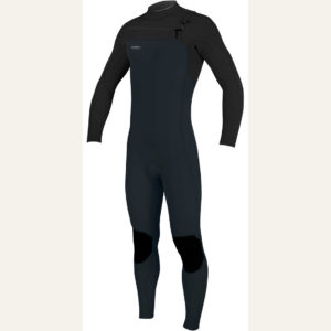 ONeill Hyperfreak 32mm Chest Zip GBS Wetsuit SLATE BLACK 5000