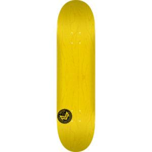 mini logo chevron yellow drop in surfshop galicia ferrol
