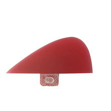 FCS-Fin-Knubster drop in surfshop red