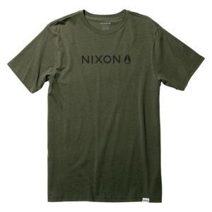 nixon basis tshirt drop in surfshop