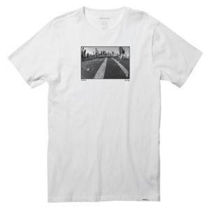 nixon blacktop tshirt drop in surfshop