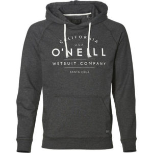 o´neill hoodie grey drop in surfshop
